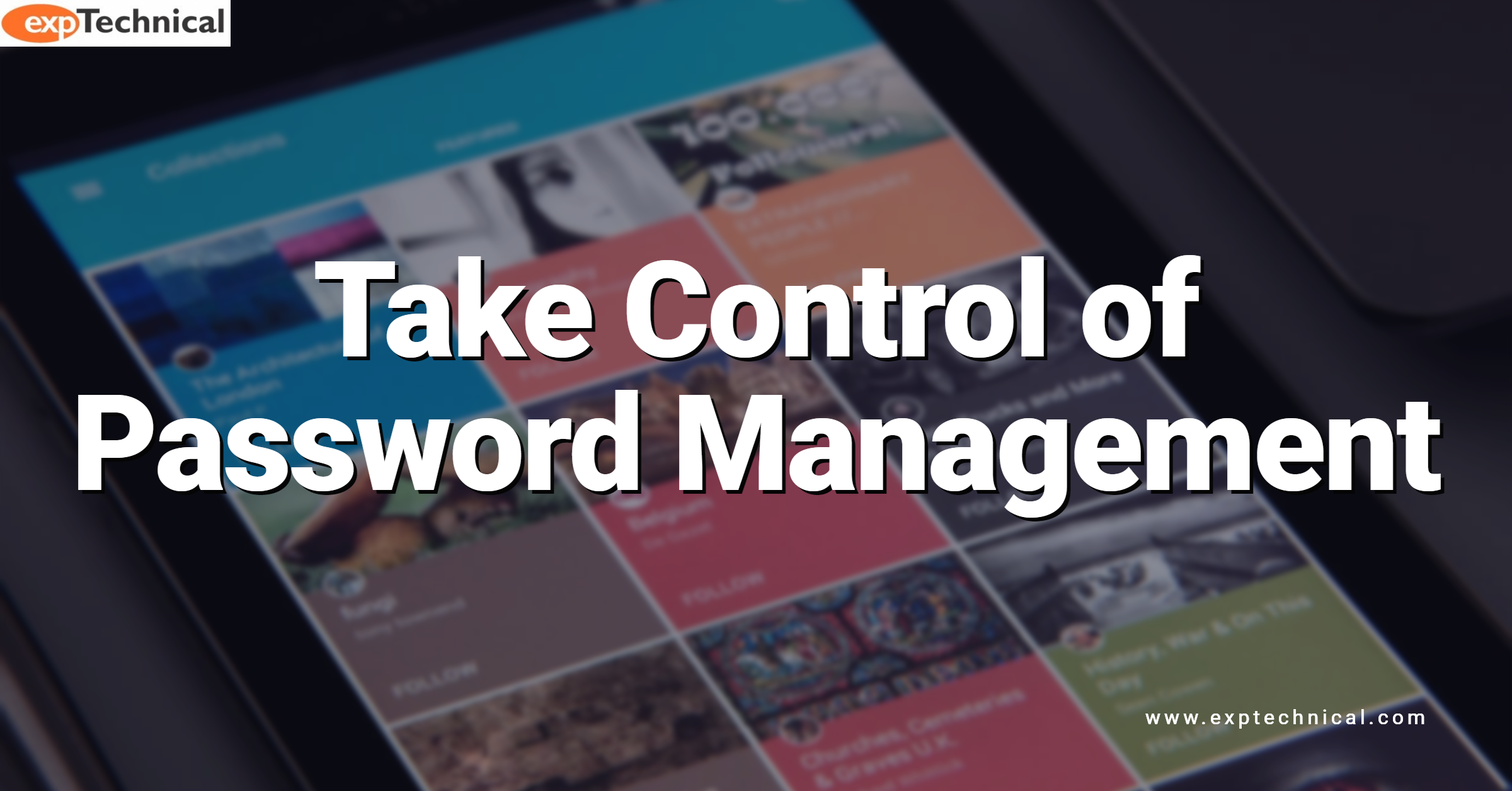 Take Control of Password Management