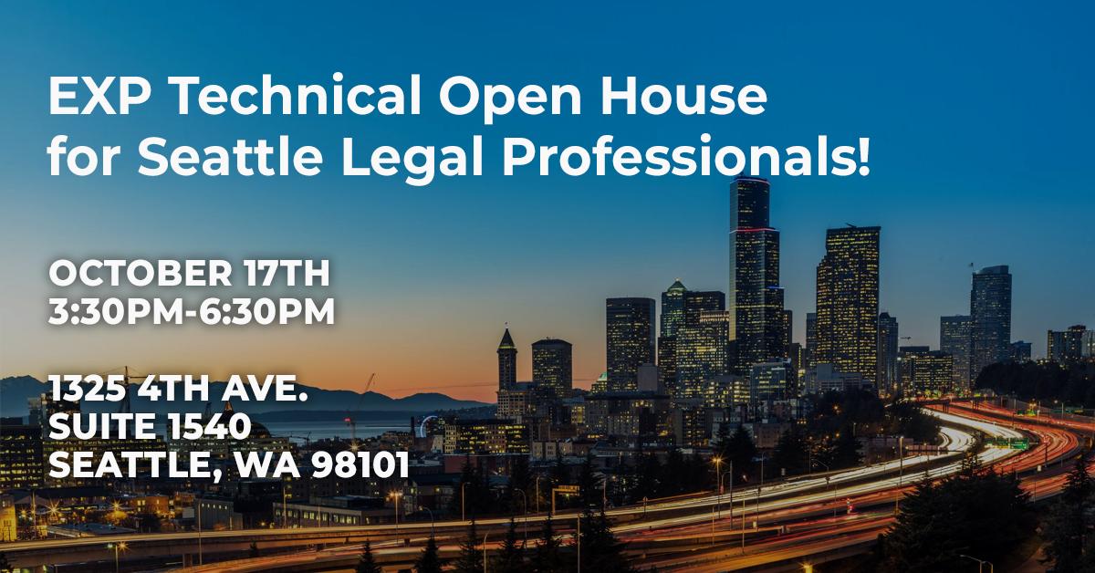 EXP Tech Legal Open House